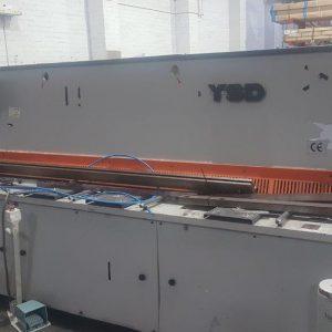 YSD 3100mm x 6.35mm Guillotine